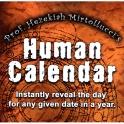 THE HUMAN CALENDAR  -  DAVE MIRTO